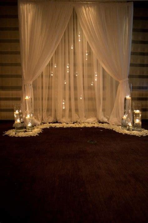35 Dreamy Indoor Wedding Ceremony Backdrops   Deer Pearl