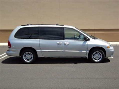 auto body repair training 2000 chrysler town country transmission control sell used 2000 chrysler town country lx 1own low miles non smoker no accident no reserve in