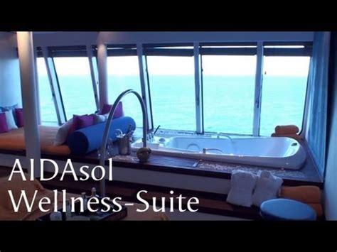 aidaprima wellness suite wellness suite auf aidasol ausf 252 hrlicher rundgang
