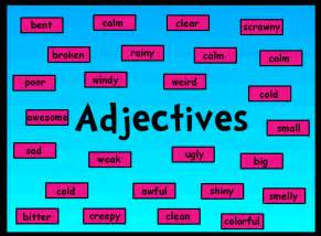 adjectives and adverbs with images 183 chawkinswilson