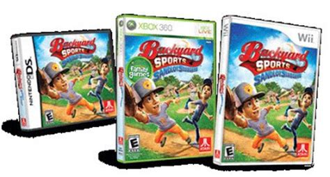 Backyard Baseball Walmart Backyard Sports Sandlot Sluggers For Wii Review Giveaway