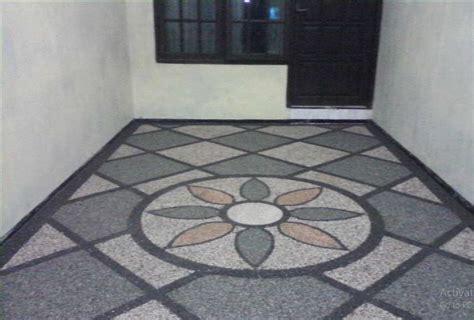 lantai carport garasi keramik ndik home