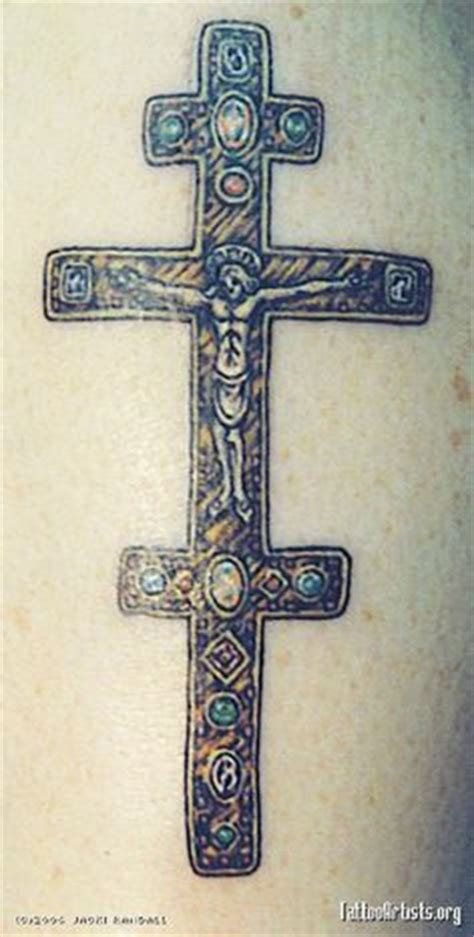 orthodox cross tattoo orthodox cross orthodox cross pictures