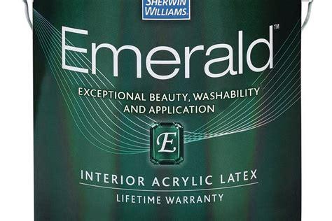 sherwin williams emerald acrylic latex paint jlc