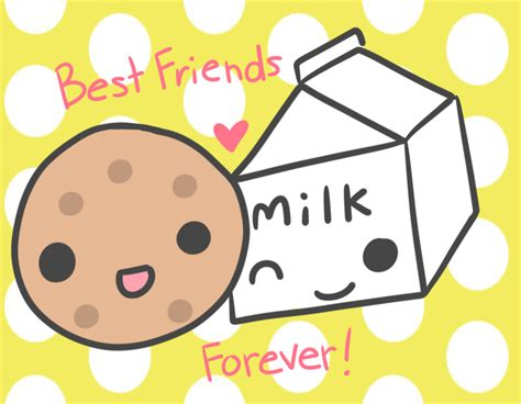 imagenes kawaii bff milk and cookies bff bff s pinterest bff and thoughts