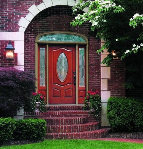 Front Door Decoration With Red Colors 22 House Exterior Feng Shui Front Door Colour