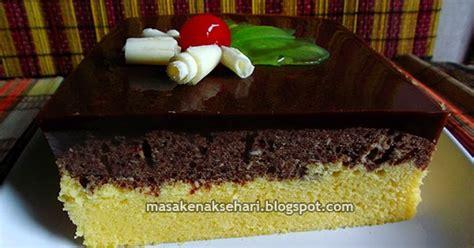 cara membuat kue bolu lapis kukus resep bolu kukus lembut lapis puding coklat