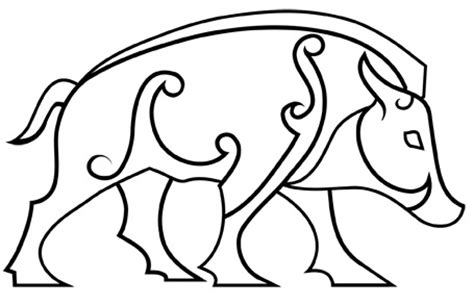 pictish boar pictish animals this pictish design is