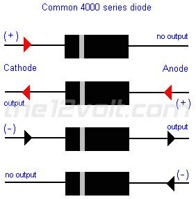 what is the purpose of a blocking diode blocking diodes isolating door triggers and sensors