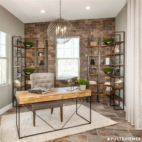 industrial home office  ample style  storage