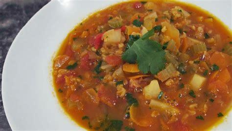 simple lentil soup recipe vegetarian