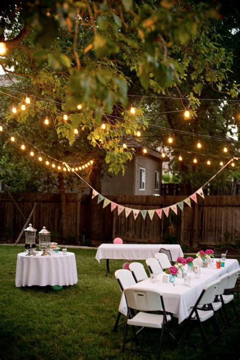 domestic fashionista backyard birthday pink