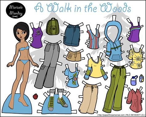 printable paper dolls marisole monday friends archives page 24 of 30 paper