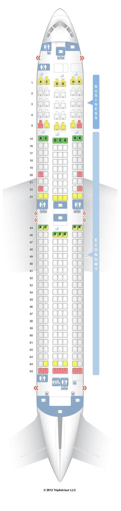 seatguru seat map japan airlines boeing 767 300er 76w v1