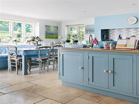 country blue kitchen cabinets farrow and dining room country kitchen painted