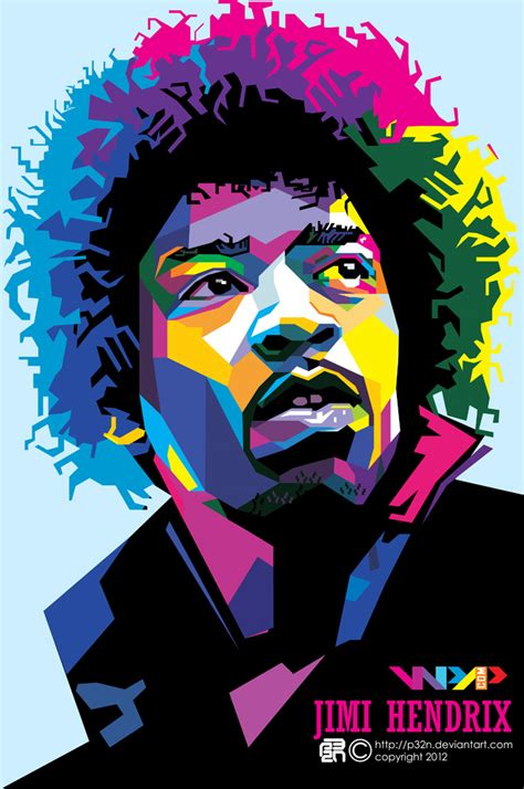 Online Corel Draw X7 jimi hendrix by p32n on deviantart