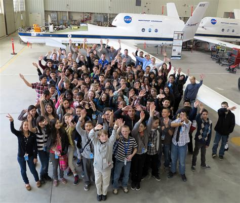 aerospace academy students explore attrex mission nasa