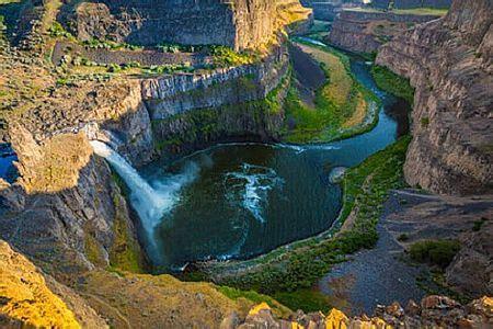 map usa and canada les plus belles chutes d eau des usa r 233 gion par r 233 gion