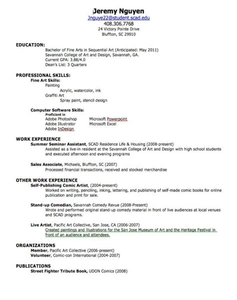 First Job Resume No Experience Template by How To Type A Job Resume Samples Of Resumes