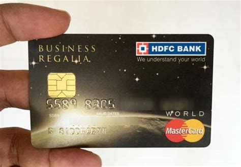 Credit Card Form Hdfc my hdfc business regalia credit card review cardexpert