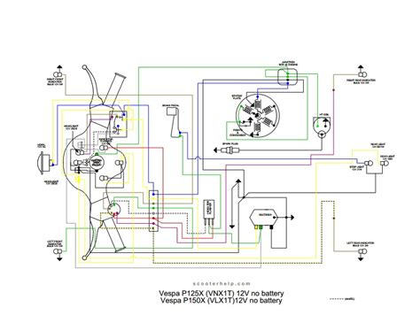 vespa vbb wiring diagram wiring automotive wiring diagram