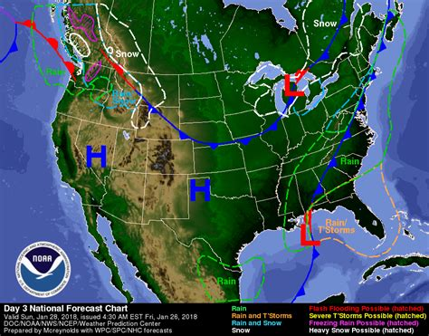 us weather map 3 day forecast weather forecasts and current conditions nws us