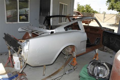 Parts 1967 Ford Mustang Fastback 2 Door Project For Sale 1966 Mustang Coupe To Fastback Conversion Project Car