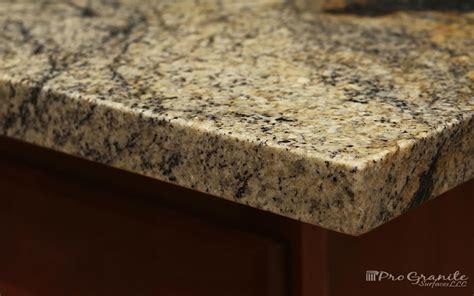 Eased Edge Granite Countertop by Edge Profiles Progranite Surfaces