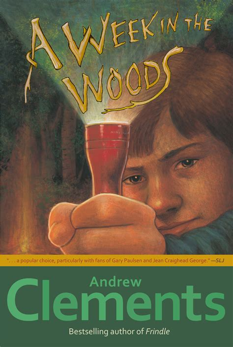biography book club picks a week in the woods book by andrew clements official