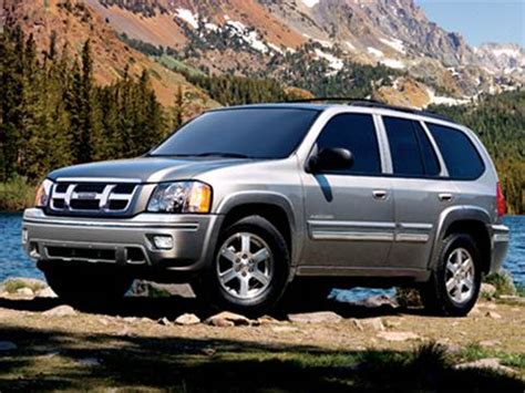 isuzu ascender pricing ratings reviews kelley blue book