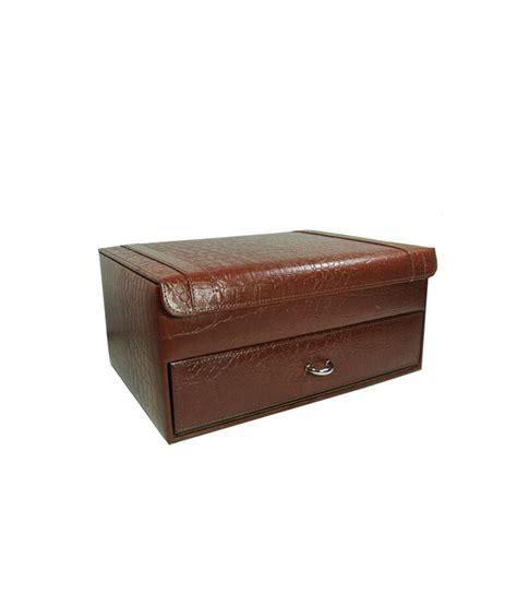 Vanity Box Price by Buy Essart Pu Leather Vanity Box 11073 C At Best