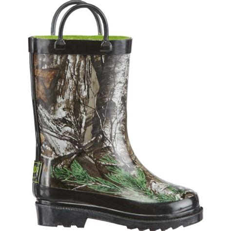 toddler rubber boots trading co toddler boys realtree xtra rubber