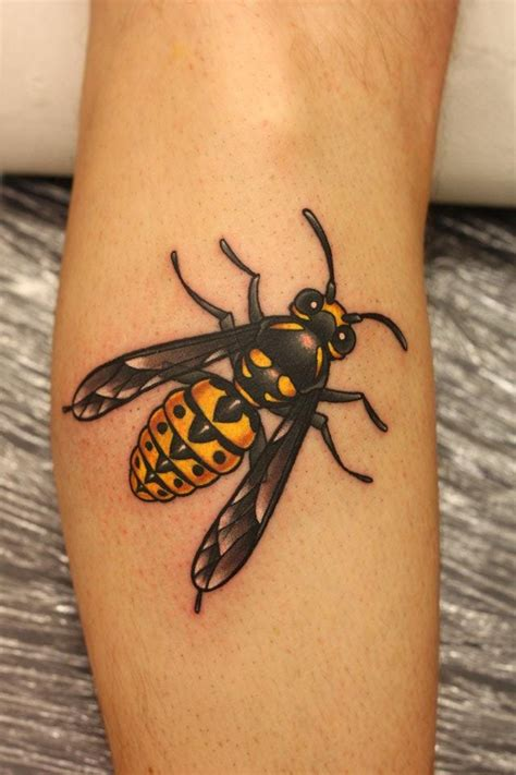 wasp tattoo design bumble bee tattoos bee