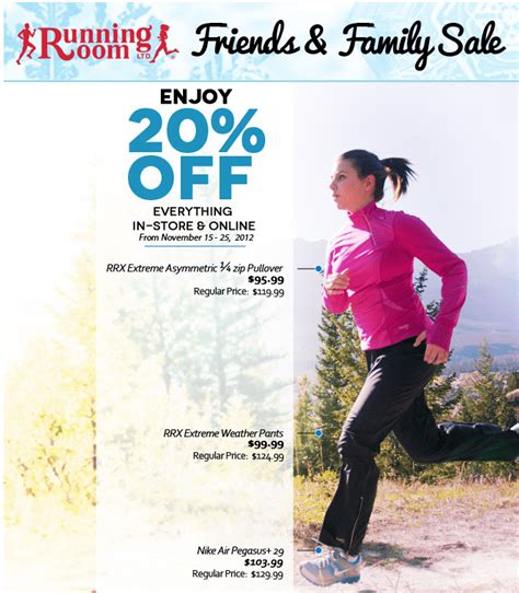 running room canada running room friends family sale save 20 everything canada deals canada deals