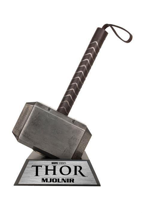 previewsworld thor movie hammer of thor prop replica c