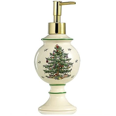 spode christmas tree bath decor trendzic