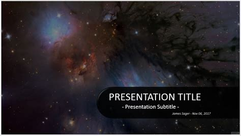 space powerpoint template free outer space powerpoint 32857 sagefox powerpoint