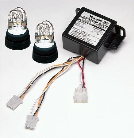 whelen strobe light kits whelen 20 watt 2 strobe kit oznium