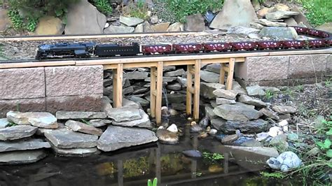 train layout water features o scale garden railroad lionel legacy pennsylvania 2 10