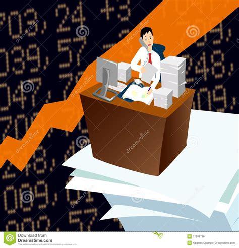 employe de bureau employ 233 de bureau occup 233 image libre de droits image