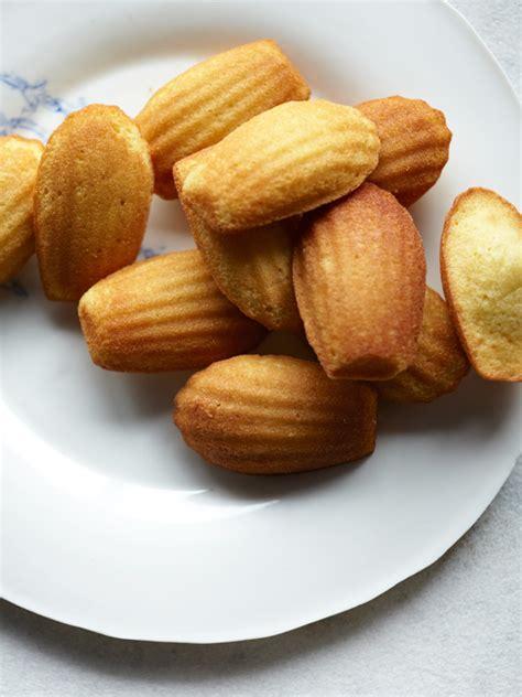 classic madeleines recipe dishmaps