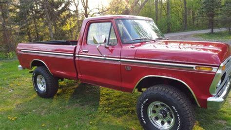1976 ford f250 highboy for sale f26yra25519 1976 ford f250 4x4 highboy