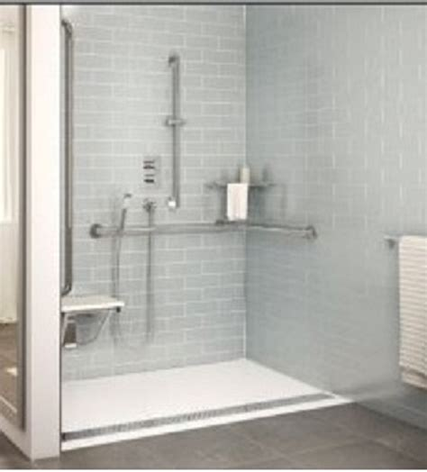 Accessible Design Ad Roll In Base Artistcraft Com Barrier Free Shower Doors