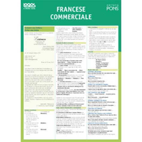 lettere commerciali francese francese commerciale pons ldl libri it