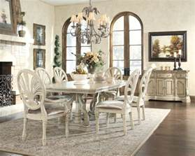 White Dining Room Tables And Chairs Antique White Dining Room Table And Chairs Alliancemv
