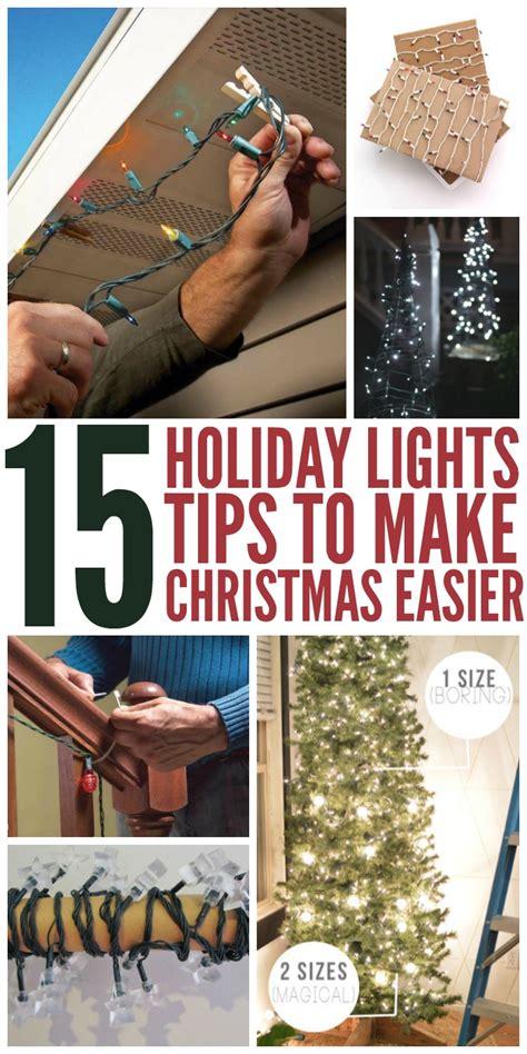 15 holiday lights tips to make christmas easier the most