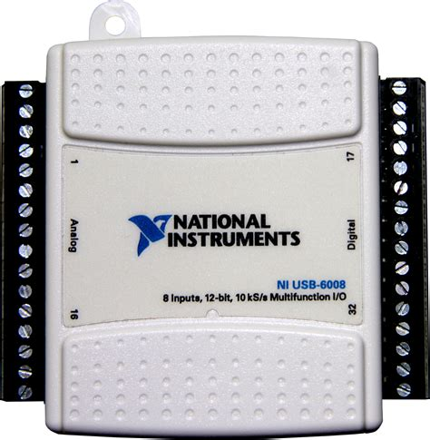Ni Usb 6008 national instruments ni daq with sirenia