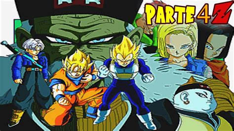 la saga de los 8466606696 dragon ball z the legend parte 4 quot saga de los androides quot z score 100 youtube