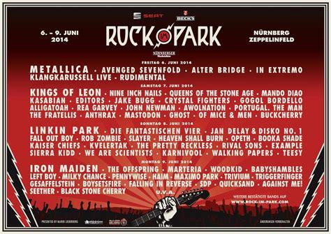Plakat Verkauft Gewinnspiel by Rock Am Ring Rock Im Park Der Spielplan Nach Tagen