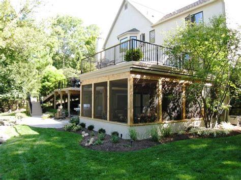 House Plans With Walkout Basement At Back top 10 reasons to build your new screened porch in the